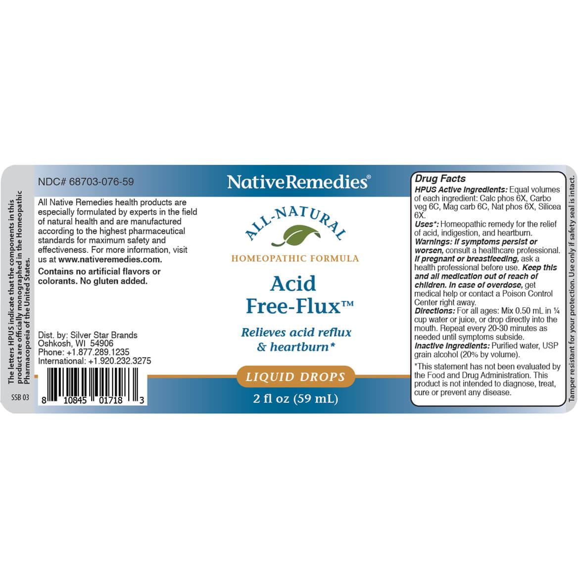 Acid Free-Flux™ for Acid Indigestion Symptoms-351037