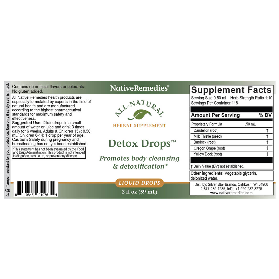 Detox Drops™ for Cleansing Support-351039