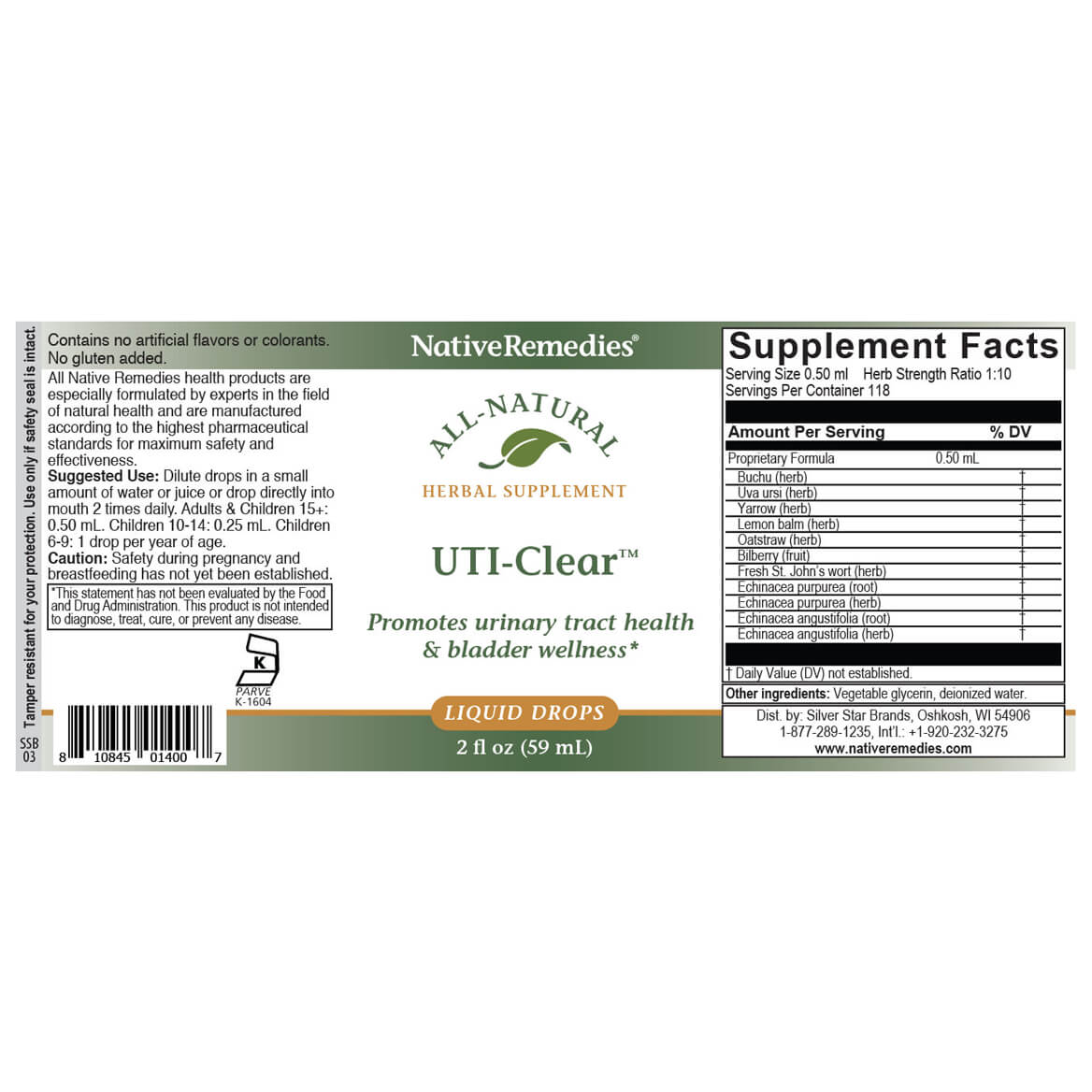 UTI-Clear™ for Urinary Tract Health-351840