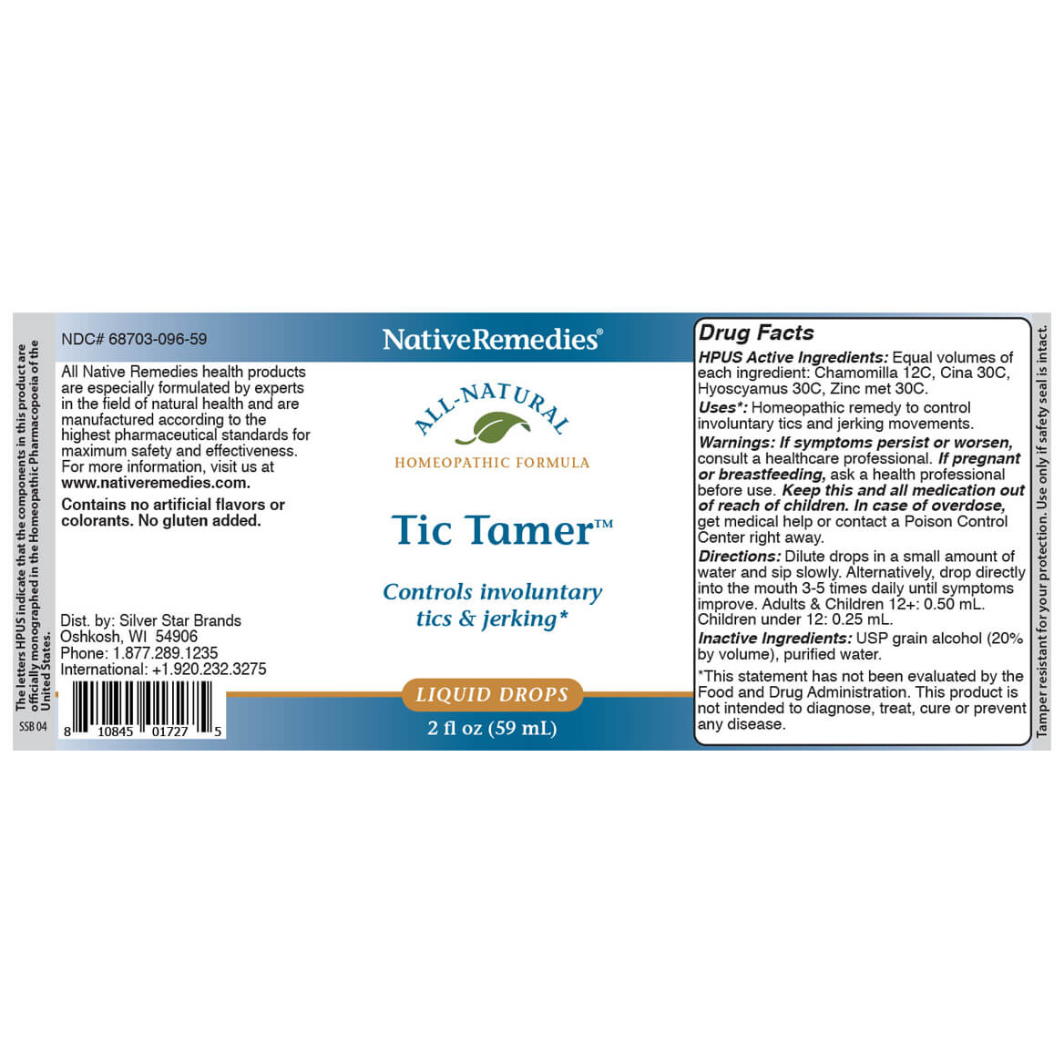 Tic Tamer™ for Muscle Spasms & Jerking-351843
