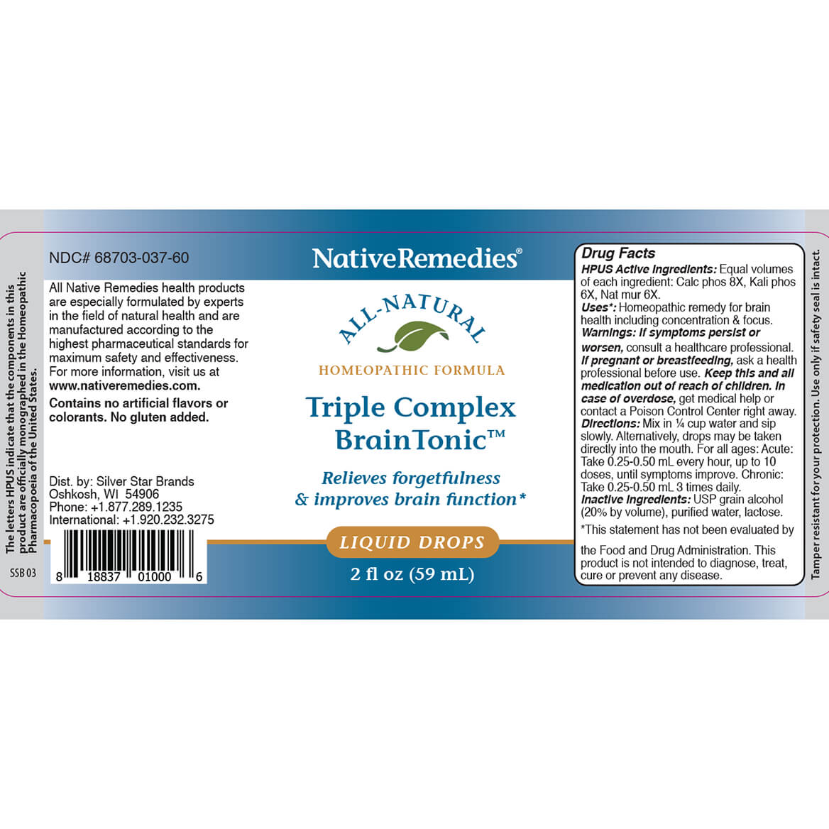 Triple Complex Brain Tonic™ for Mental Fatigue-351845