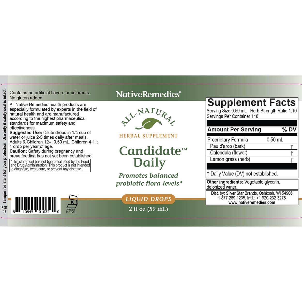 Candidate™ for Balanced Probiotics-351846