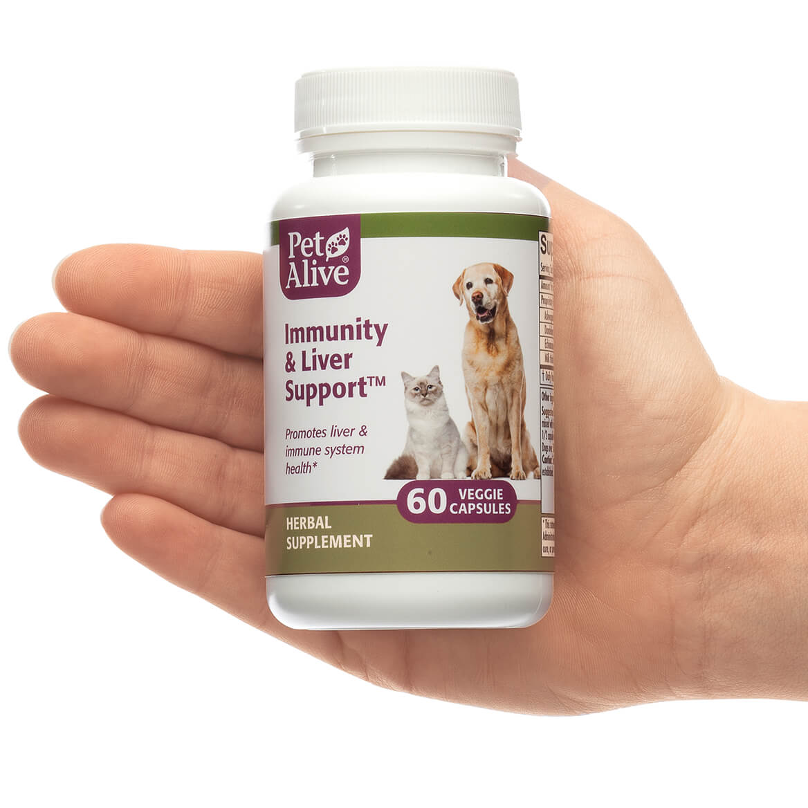Immunity and Liver Support™ Veggie Caps for Cats & Dogs-351868
