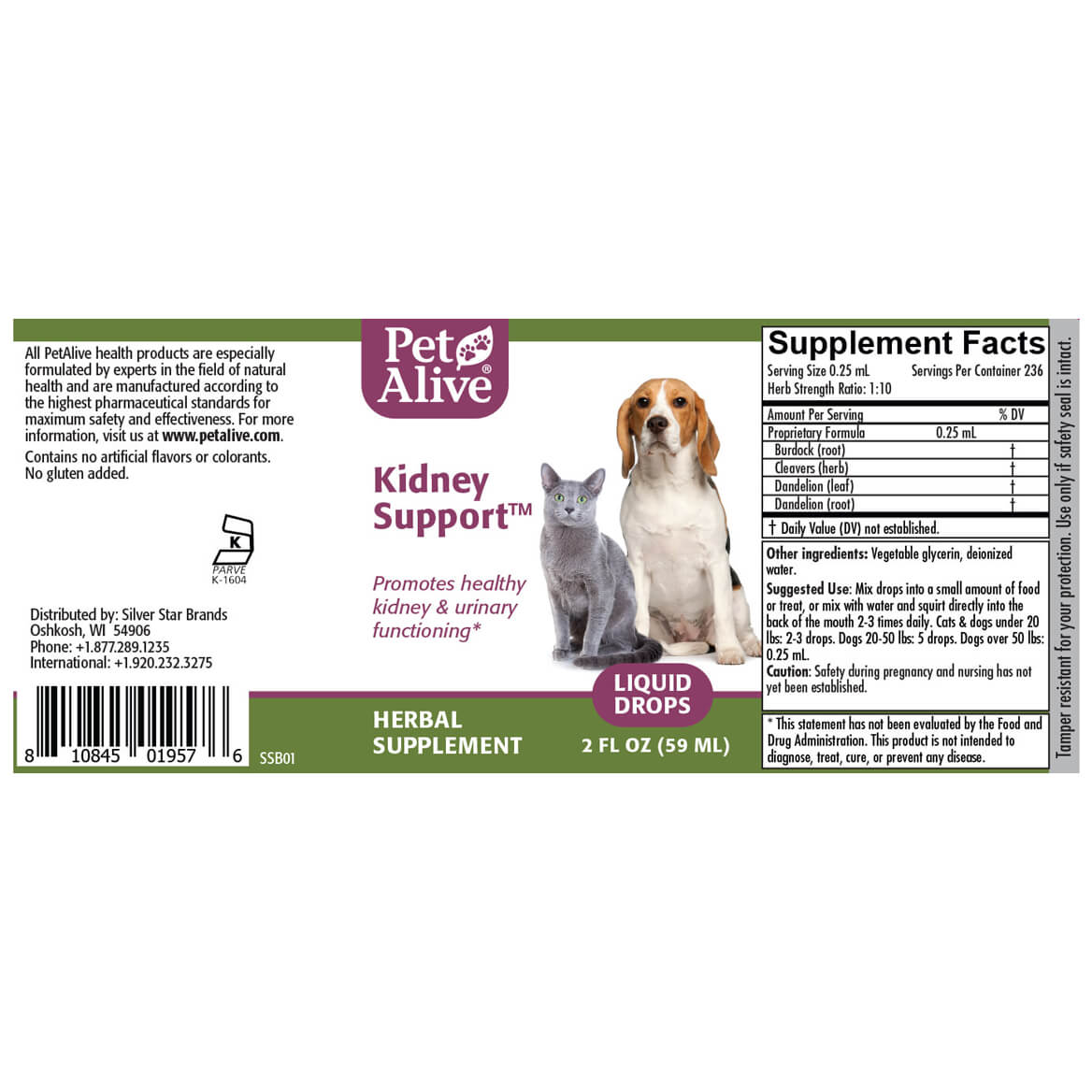 Kidney Support™ for Cat & Dogs-351872