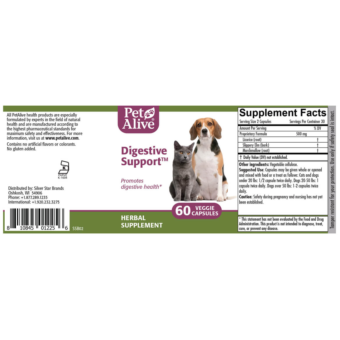 Digestive Support™ for Cat & Dog Digestion-351883