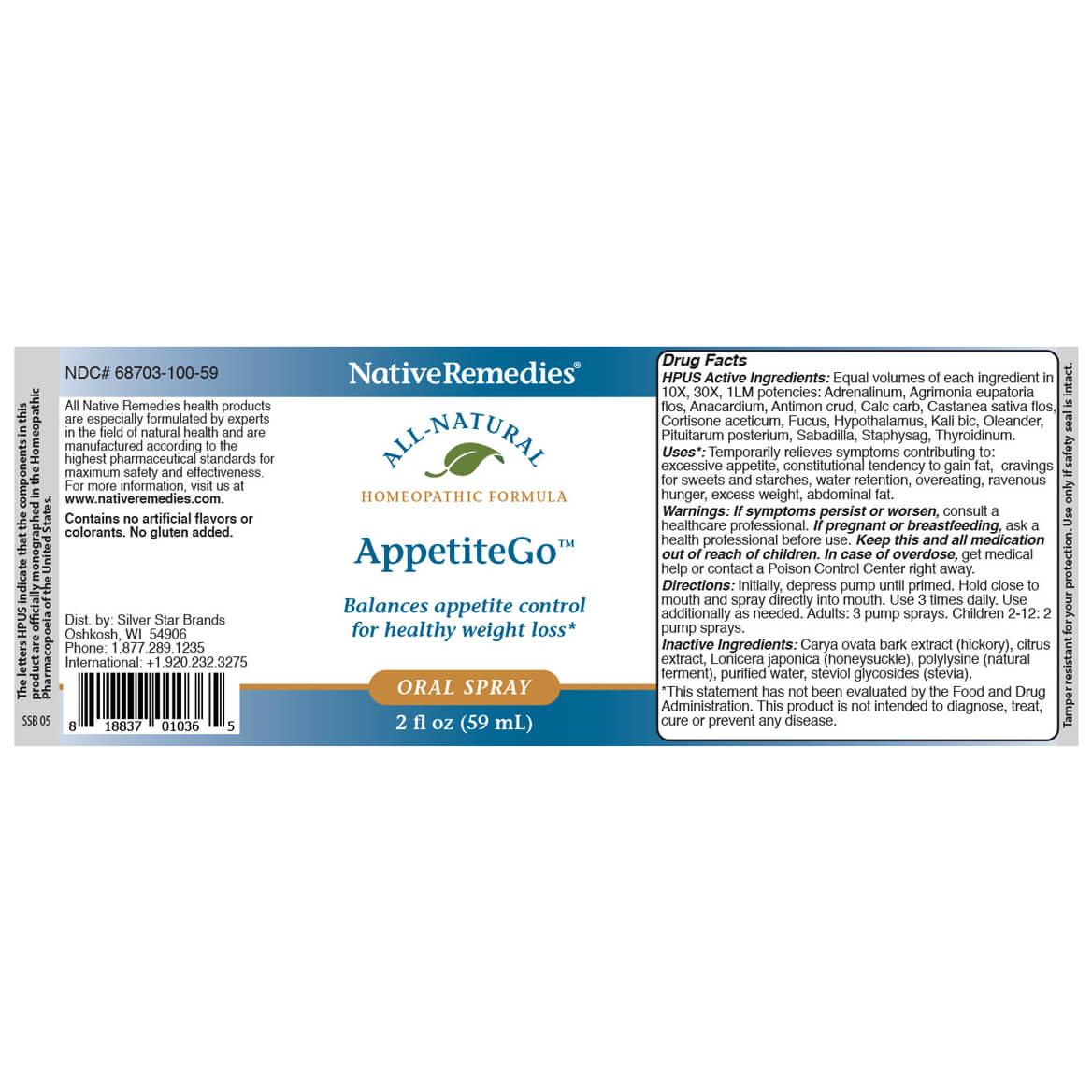AppetiteGo™ for Appetite Control-351898