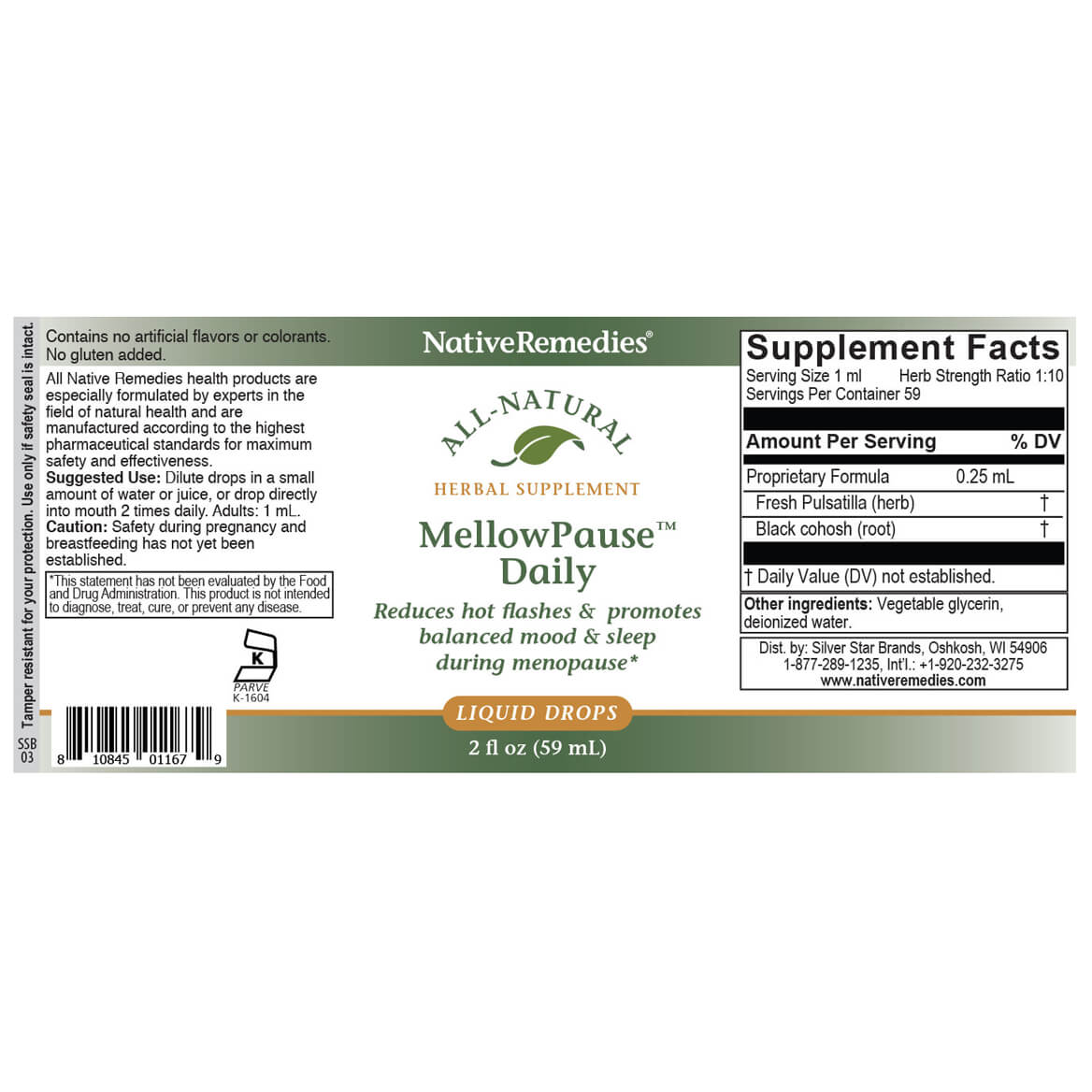 MellowPause™ Daily for Hormonal Balance Support-351901