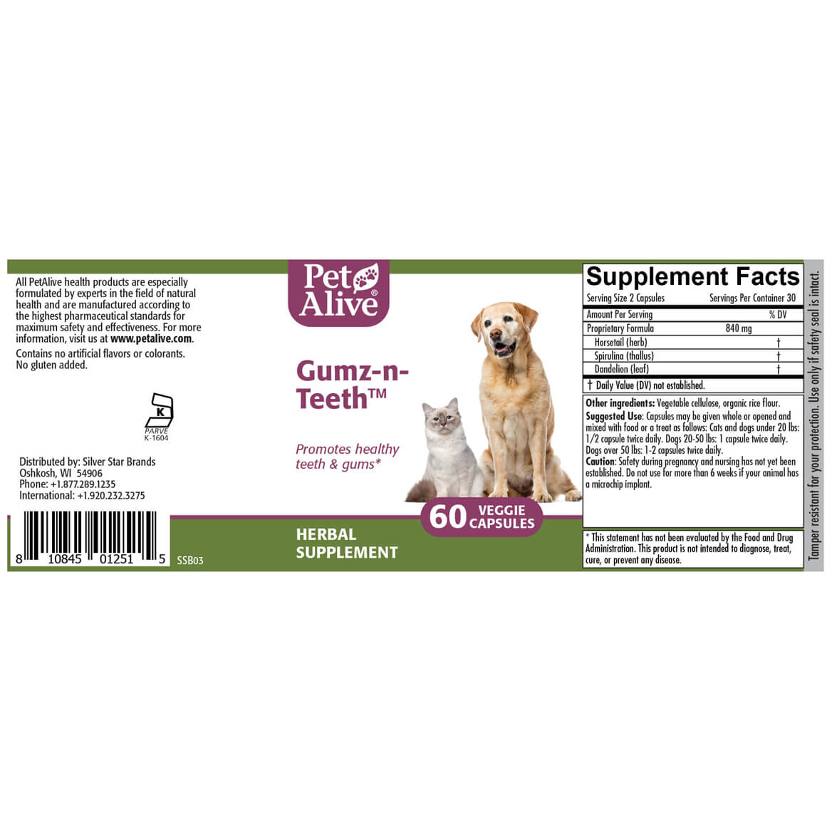 Gumz-n-Teeth™ for Pet Oral Health-351913