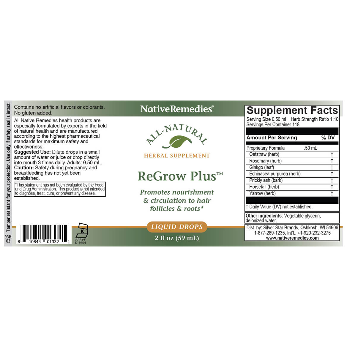 ReGrow Plus™ for Healthy Hair-351916