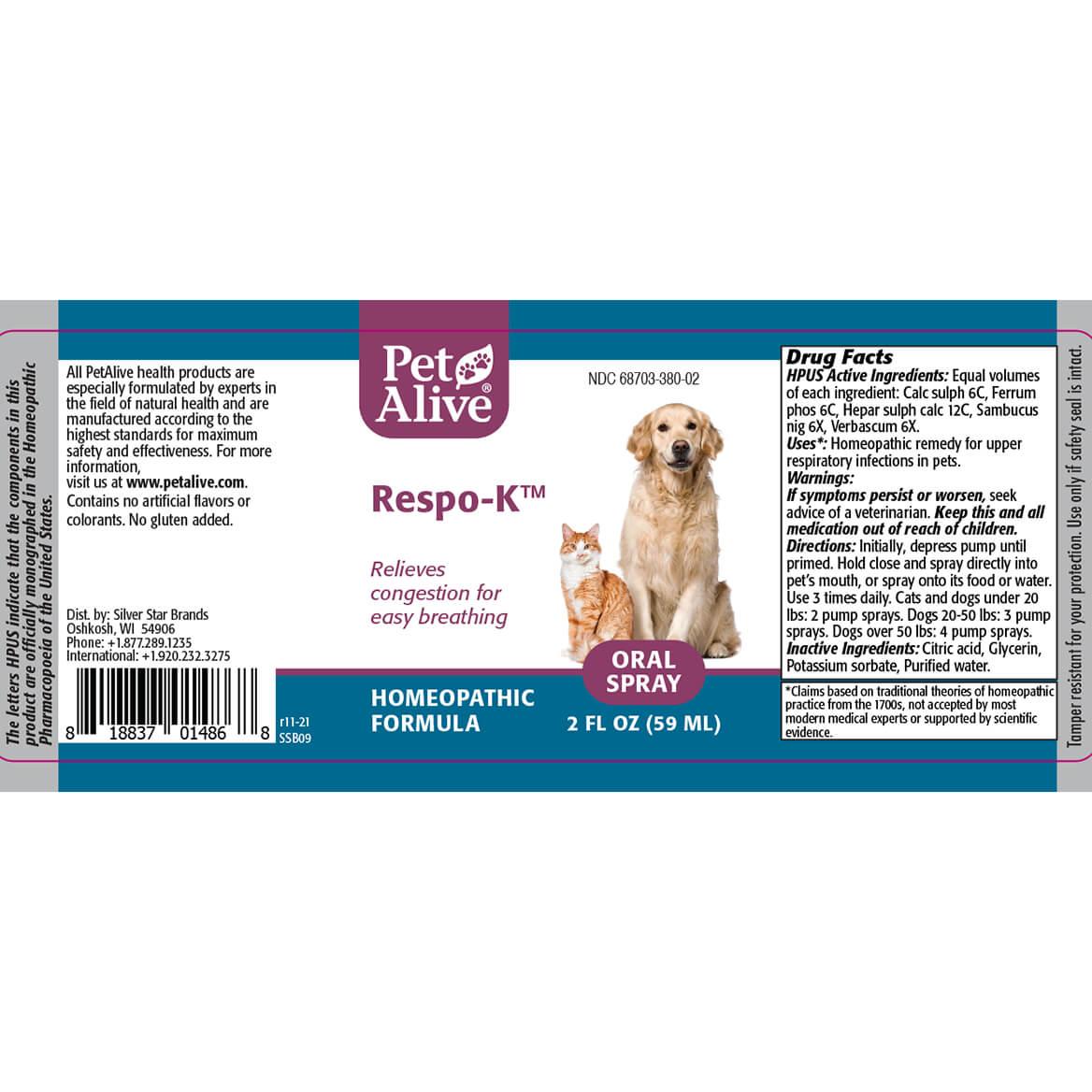 Respo-K™ Oral Spray-351917