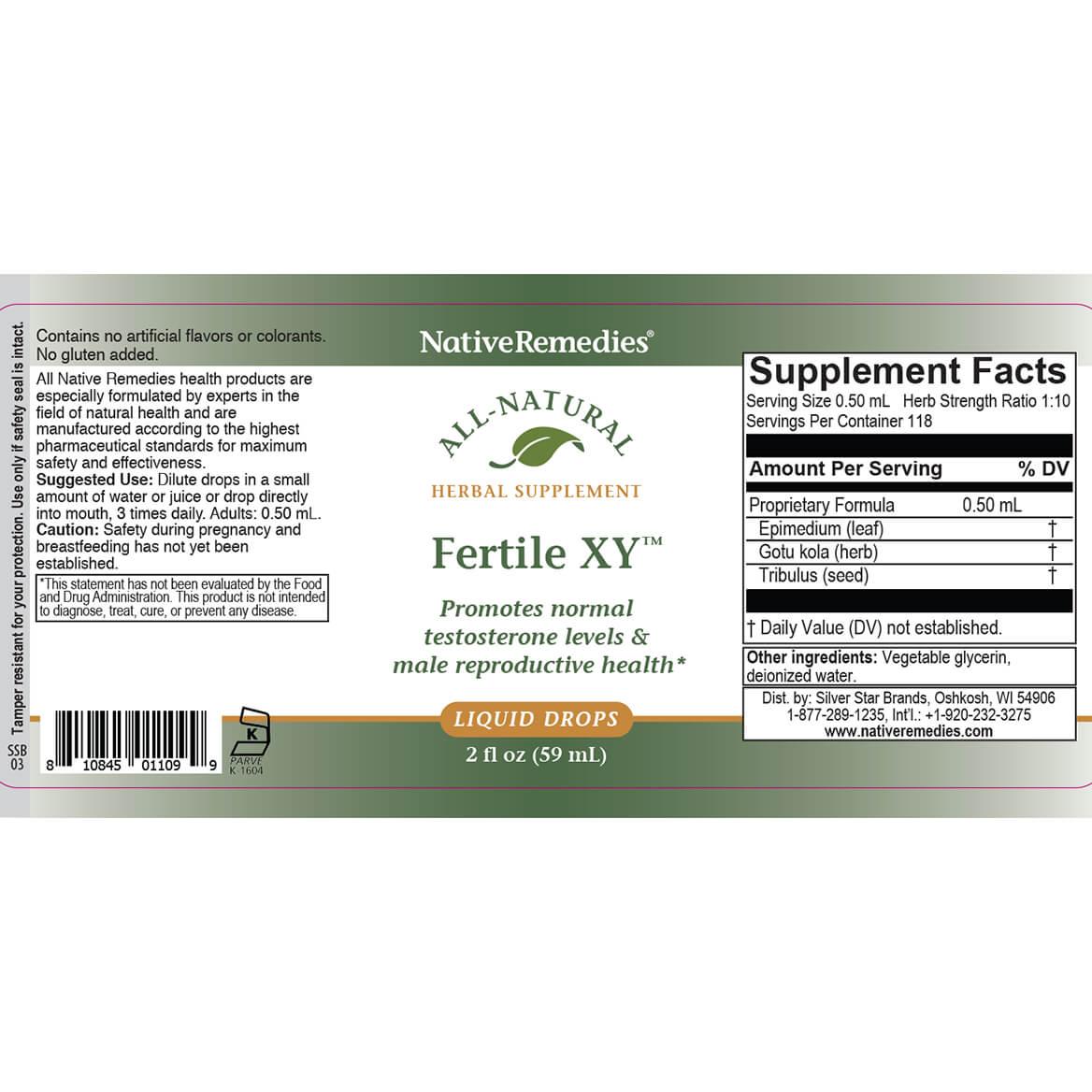 Fertile XY™ for Male Fertility Health-351948