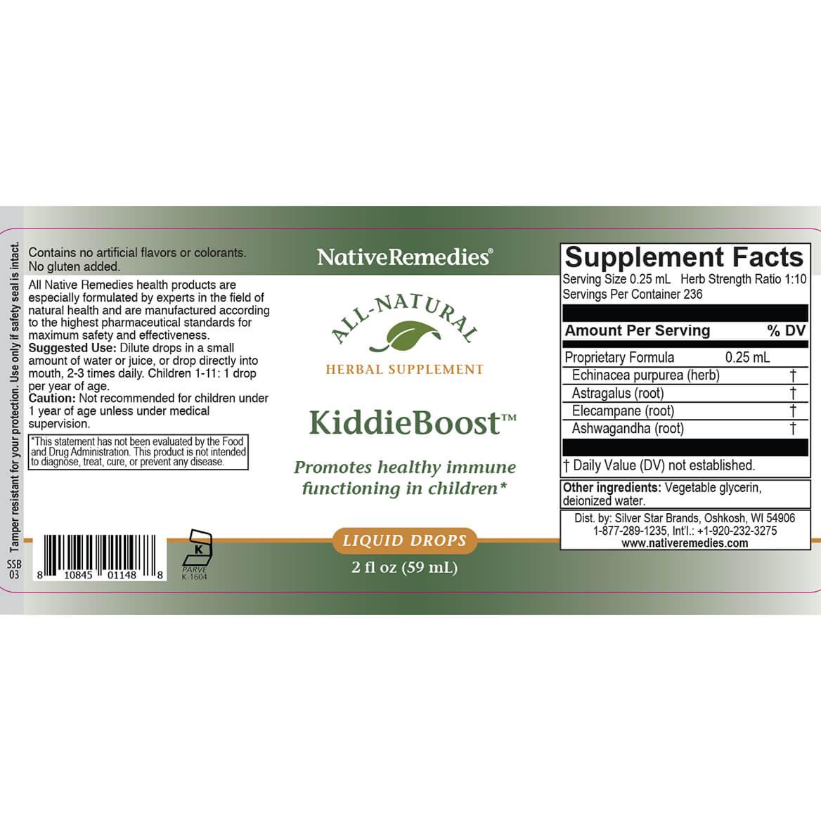 KiddieBoost™ for Children's Immune Support-352002