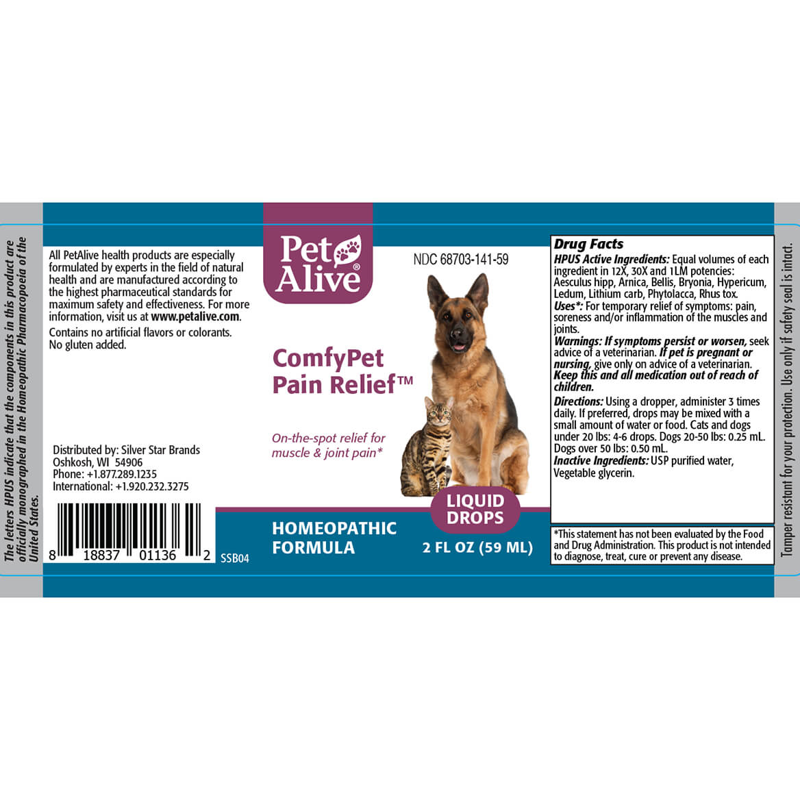ComfyPet Pain Relief™ for Minor Aches & Pain-352062