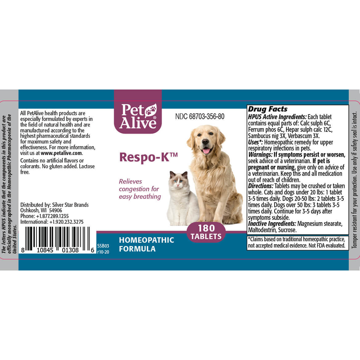 Respiratory ComboPack for Pets-352417