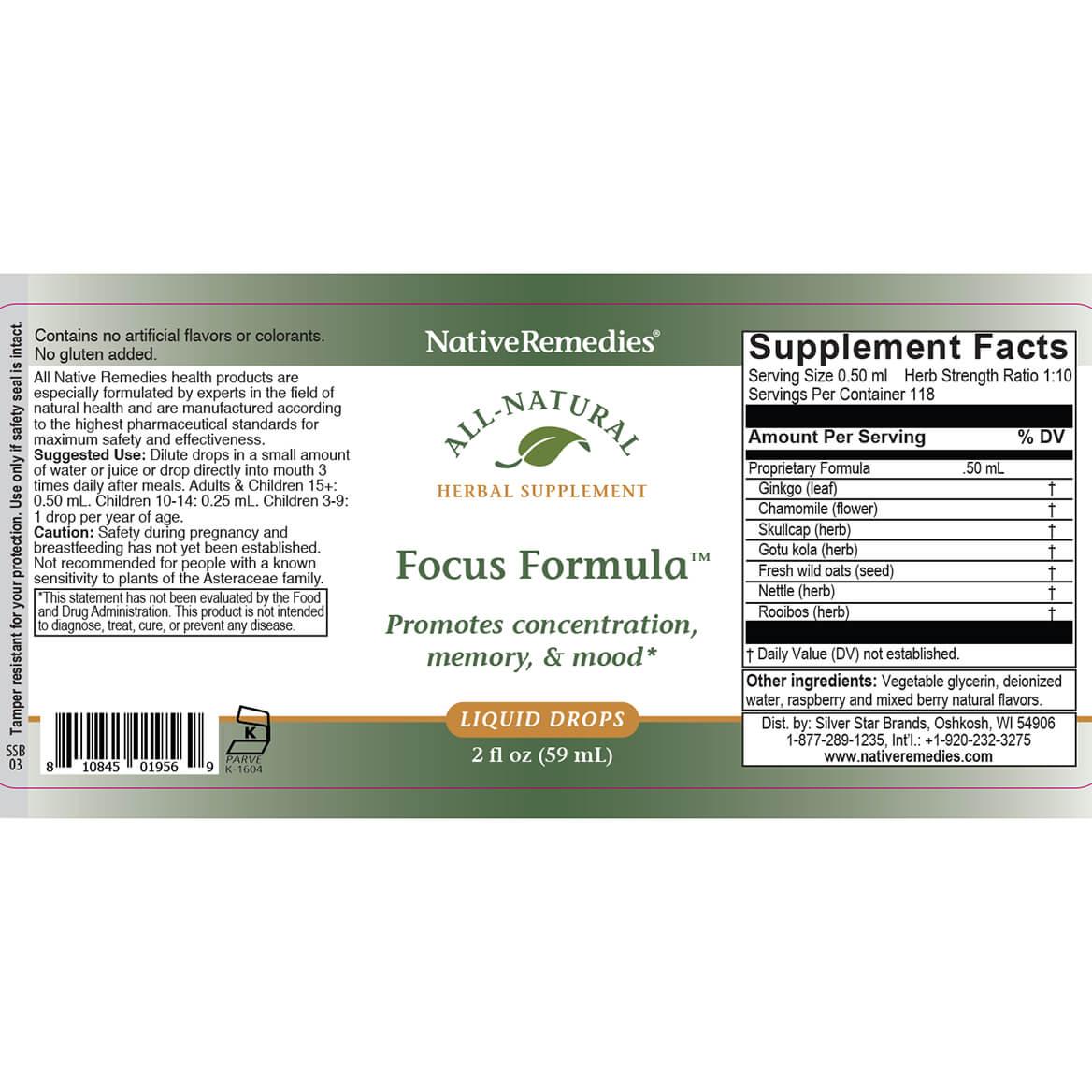 NativeRemedies® FocusPlus MegaPack for Kids-362524
