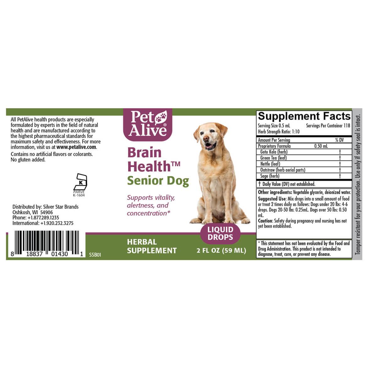 Brain Health for Senior Dogs™-362870