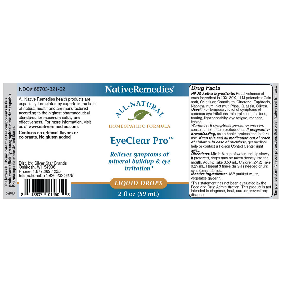 EyeClear Pro™ for Cataract Symptoms-367189