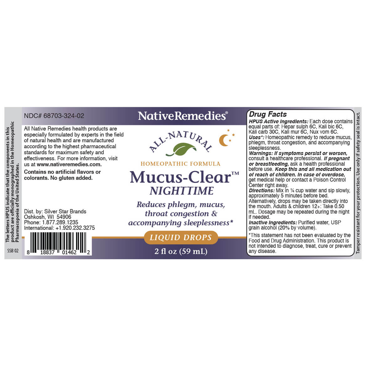 Mucus-Clear™ Nighttime for Nighttime Phlegm & Congestion-367338