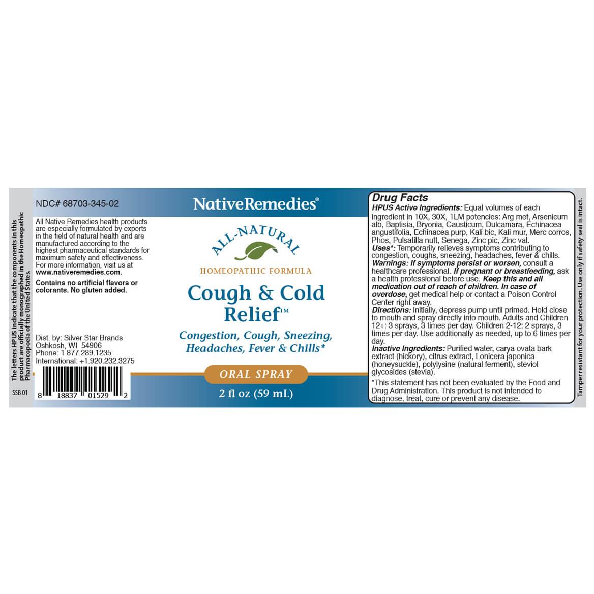 Cough & Cold Relief Oral Spray-369549