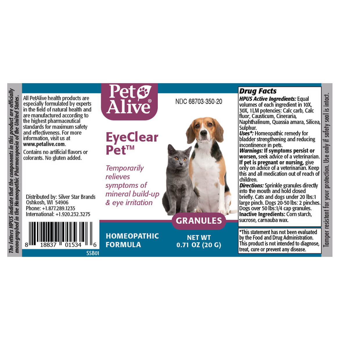 EyeClear Pet for Cataract Symptoms in Cats and Dogs-369554