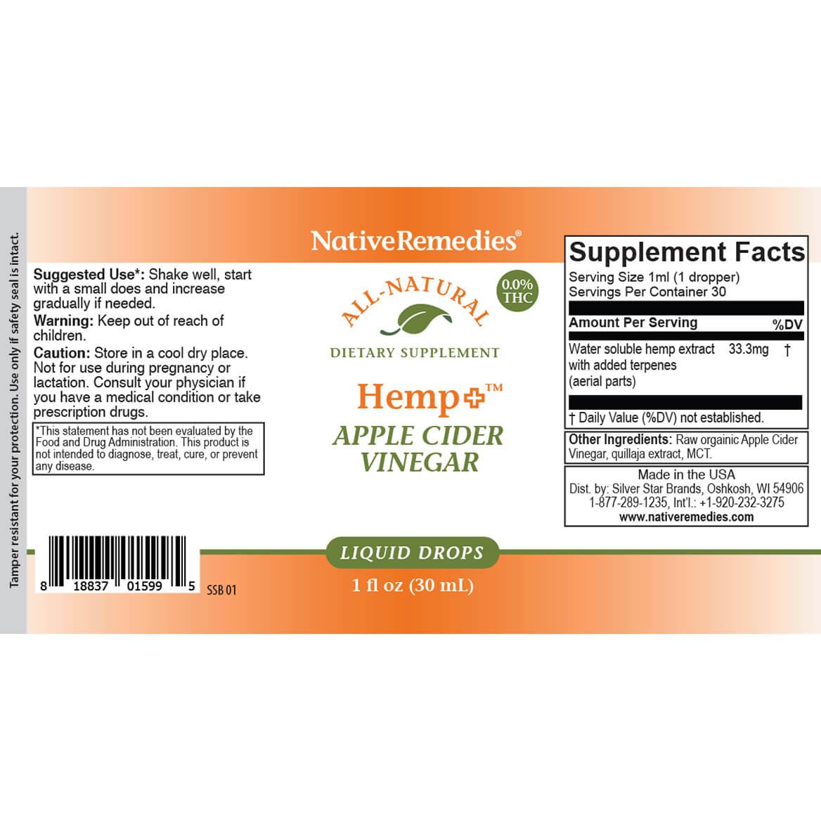 Hemp + Apple Cider Vinegar-371783