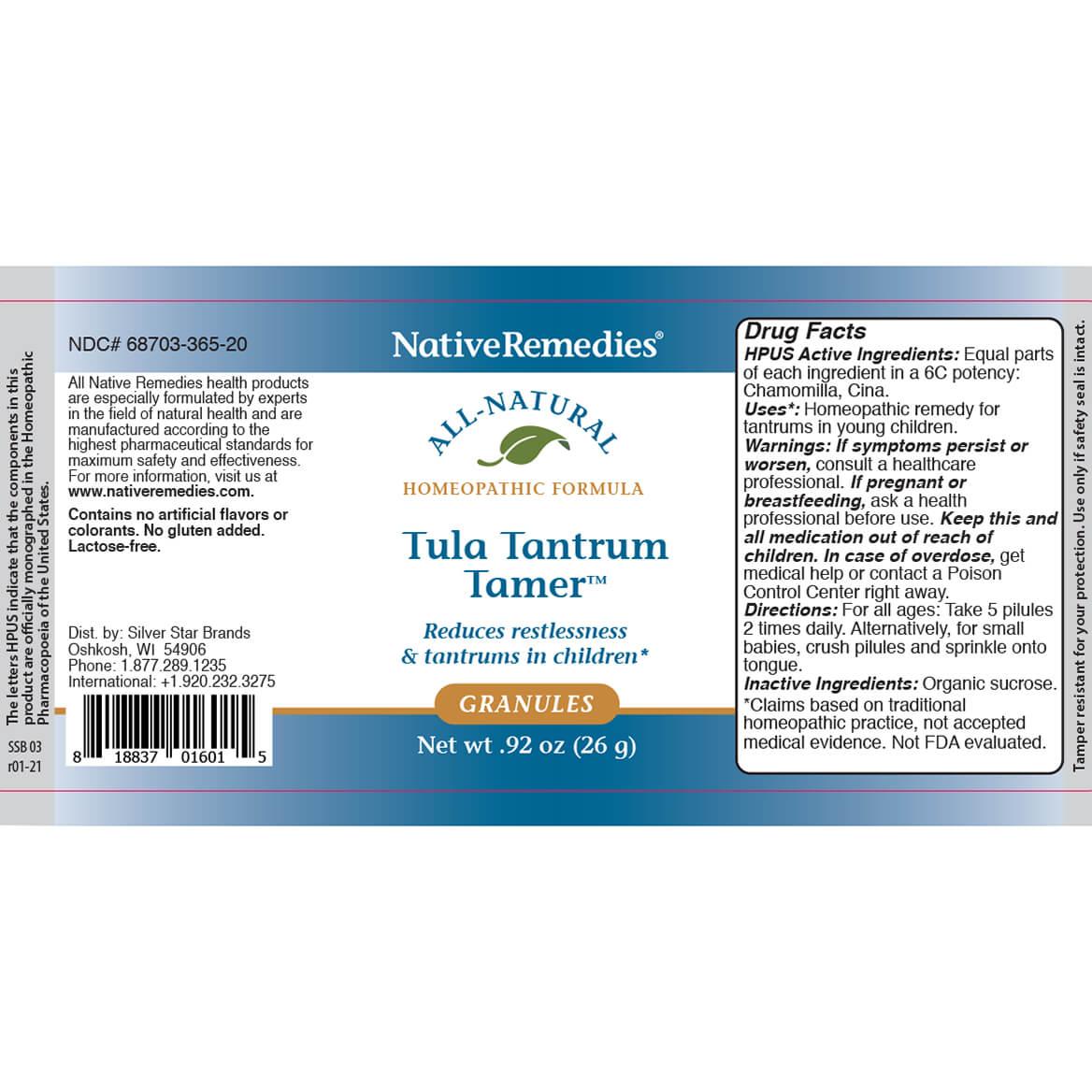 Tula Tantrum Tamer™ Granules-371818
