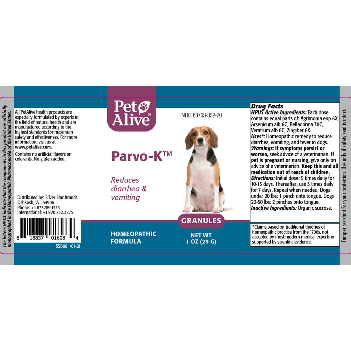 PetAlive® Parvo-K™ Granules-371826
