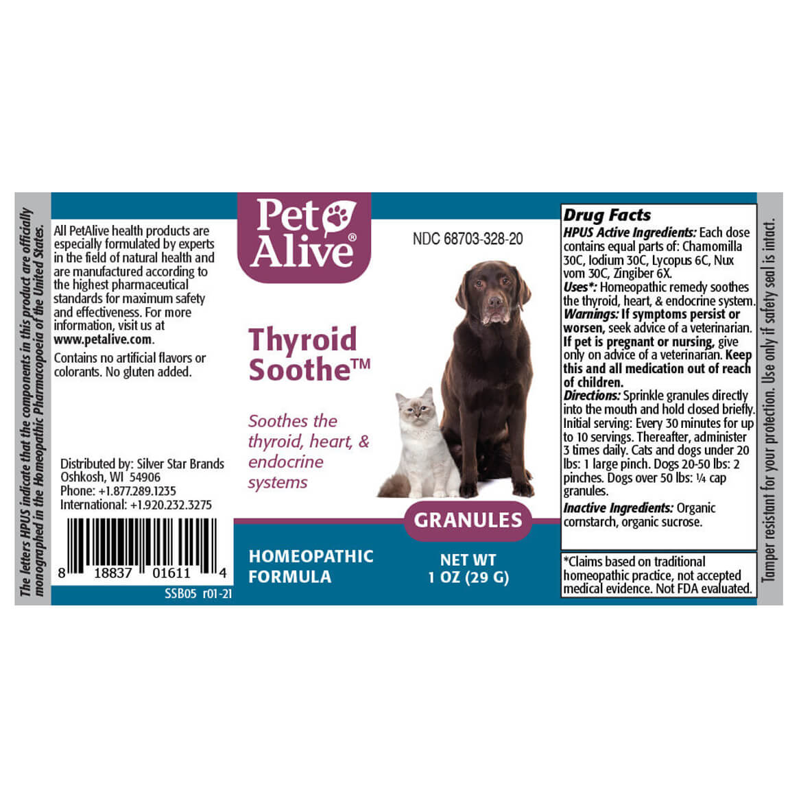 Thyroid Soothe™ Granules for Pet Hyperthyroidism Symptoms-371827