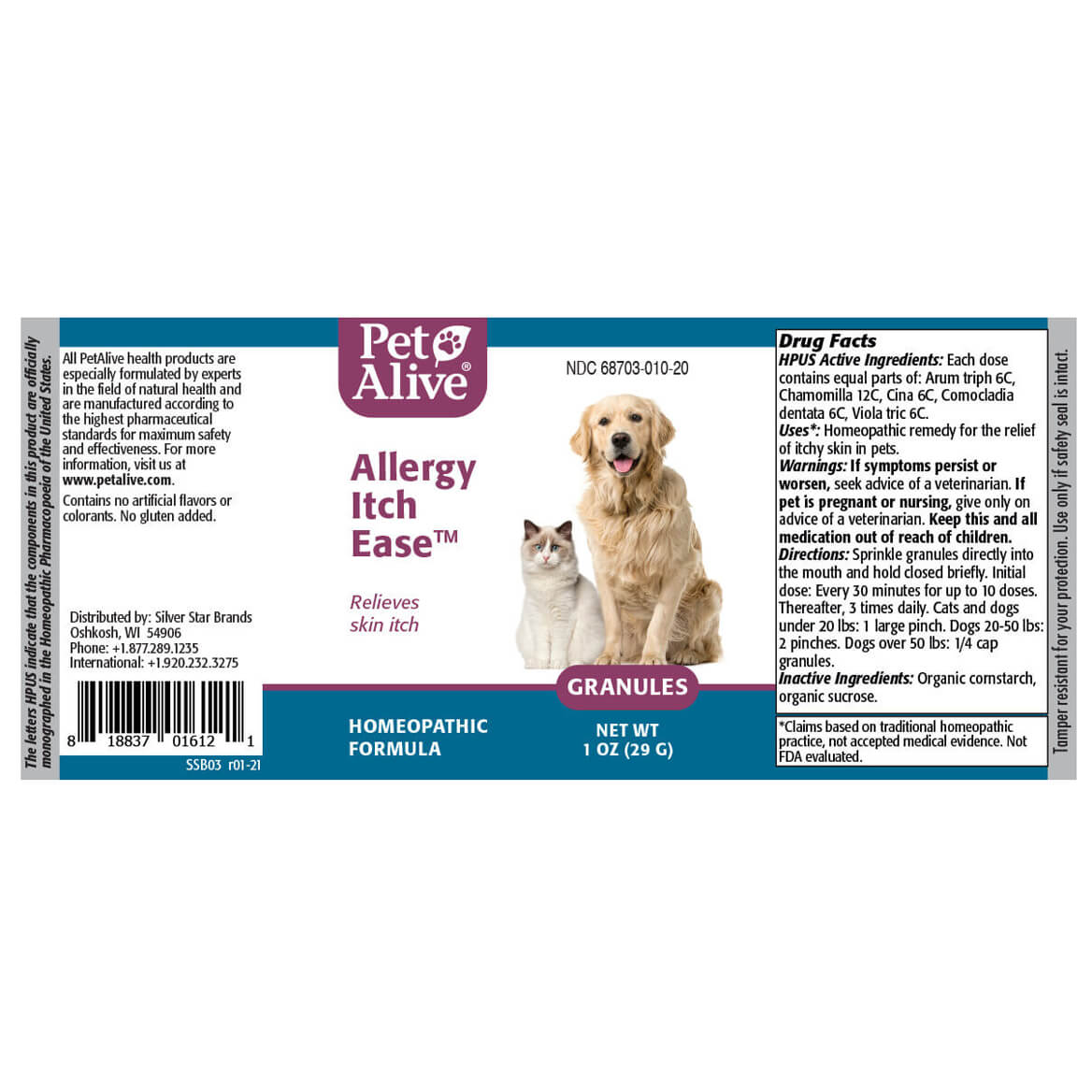 Allergy Itch Ease™ Granules-371829